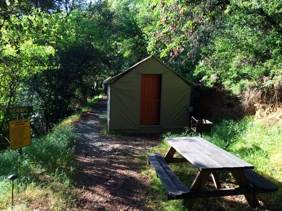 Yosemite Bug Rustic Mountain Resort : Tente au calme