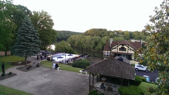 Bavarian Inn: view from outf