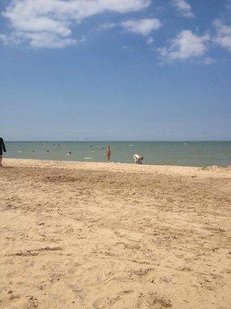 Albert E. Sleeper State Park: gorgeous sandy beach!!