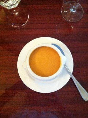 The Mason Jar Cafe: lobster bisque todays special