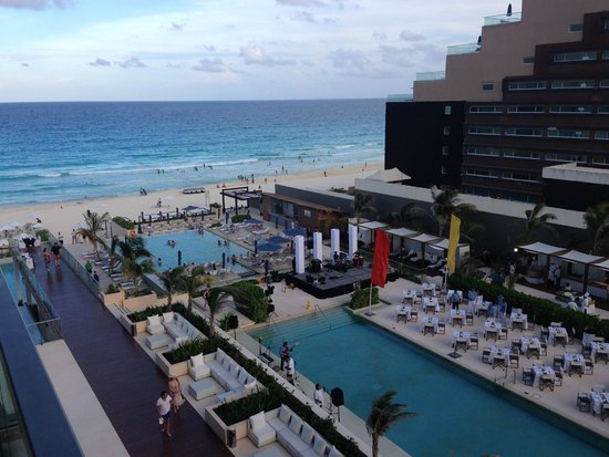 Secrets The Vine Cancun: View from my room