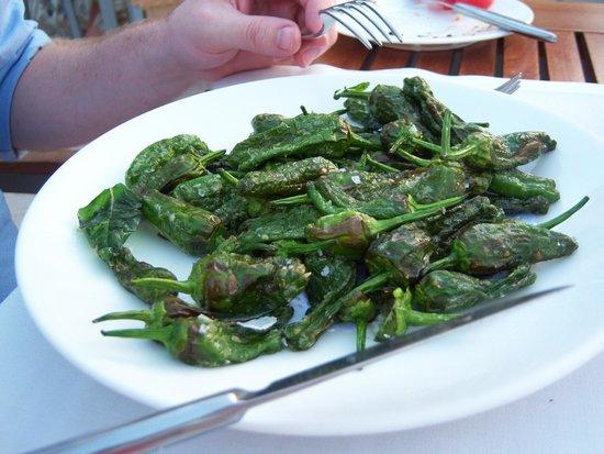 La Llonja: Padron peppers - scrumptious!