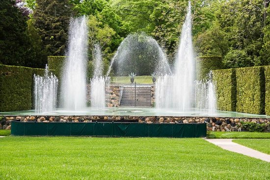 Longwood Gardens: Open Air Theatre Water Fountain