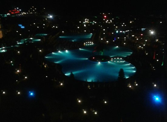 Miracle Resort Hotel: View from top floor bar