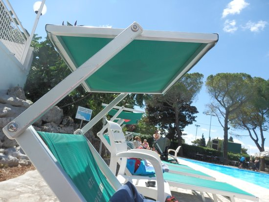 Sierra Silvana Hotel: les transats astucieux