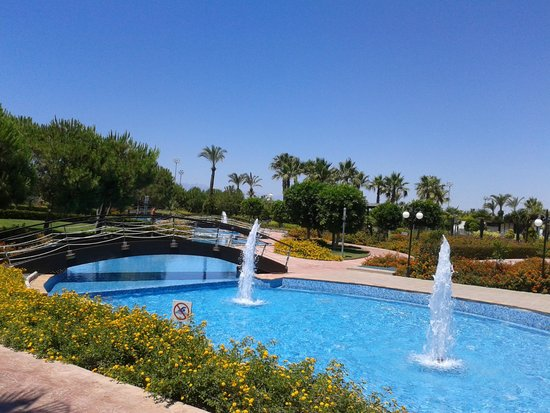 Miracle Resort Hotel: Gardens