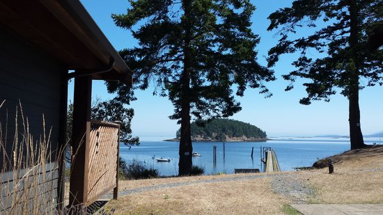 Mayne Island Resort : From our patio