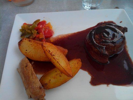 Restaurant Adelaide : tournedos de canard