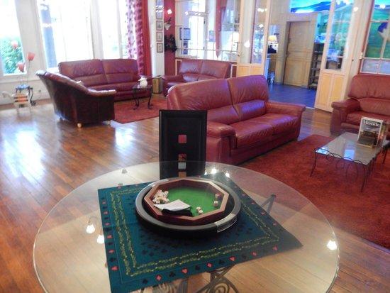 Grand Hotel : le salon