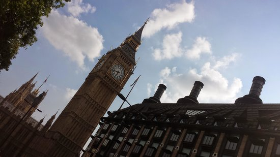 Lancaster Gate Hotel: tower of Big Ben