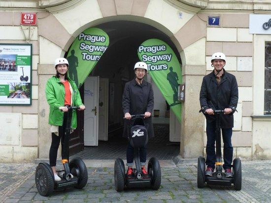 Prague Segway Tours: Tilfredse efter en sjov oplevelse
