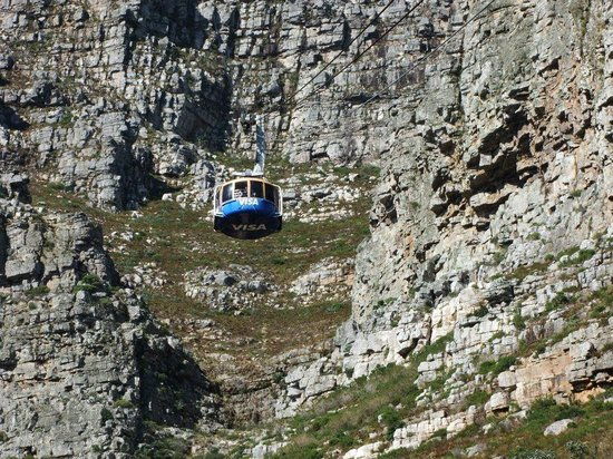 Table Mountain: The cable car