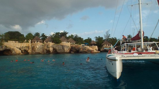 Couples Negril: Cave swimming on sunset cruise.