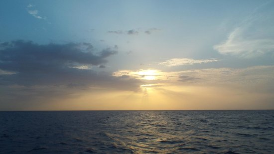 "Couples Negril: The ""sunset"" in ""Sunset Cruise."""