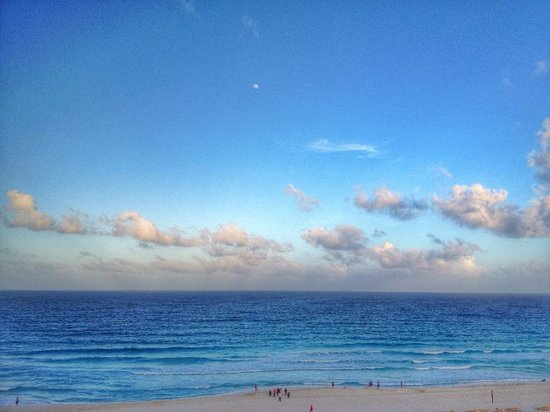 Iberostar Cancun: From from the balcony of our room
