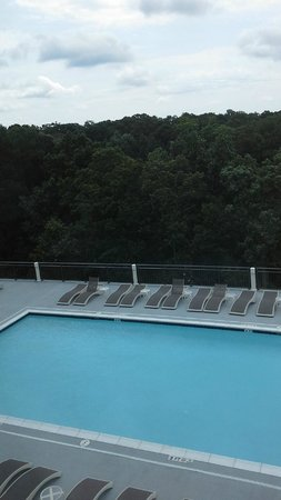 Hyatt Regency Atlanta Perimeter at Villa Christina: Pool Deck View from Room