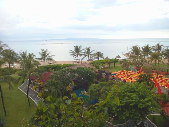 Grand Mirage Resort and Thalasso Bali: View from our room