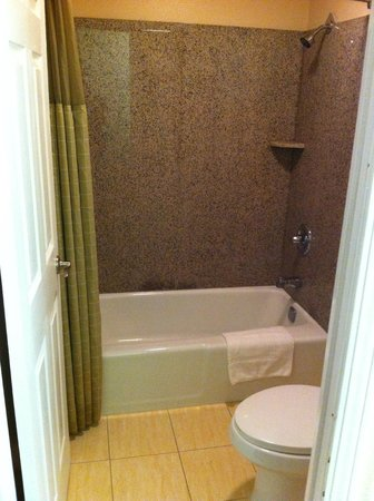 Americas Best Value Inn & Suites - San Francisco Airport : baño