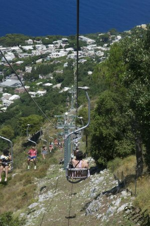 Monte Solaro (Berg): Chairlift