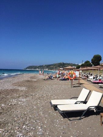 Sheraton Rhodes Resort : Пляж