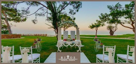 Rixos Premium Tekirova Garden Wedding