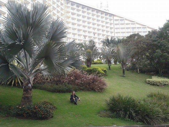 Bourbon Atibaia Convention & Spa Resort: área verde do hotel