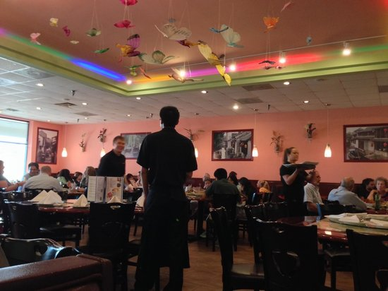 Peter Chang's China Cafe: interior