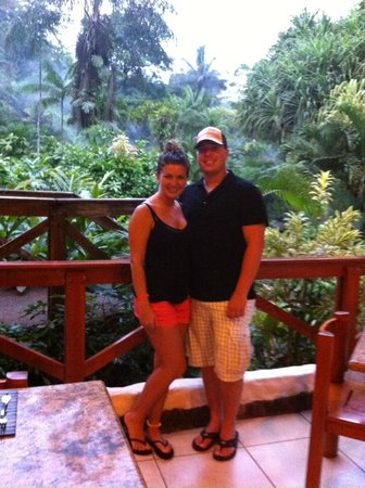 Tabacon Hot Springs: At the resturant