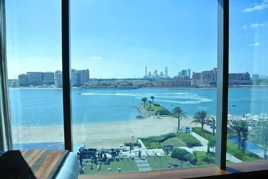 Fairmont Bab Al Bahr: veduta dalla camera