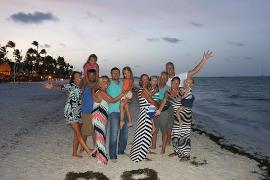 Now Larimar Punta Cana: The Fam on the Beach