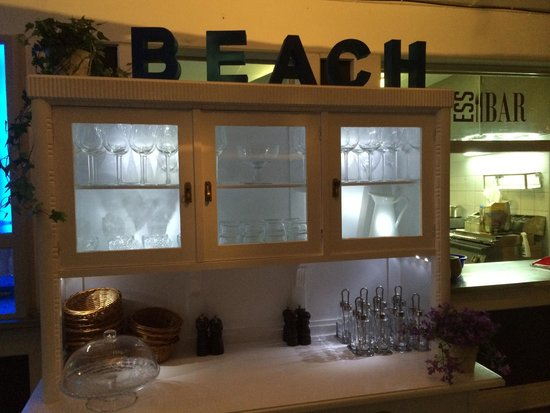 The Beach: the service station