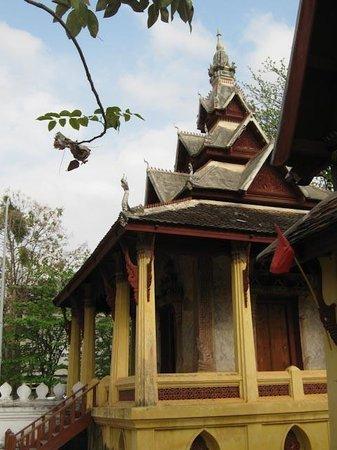 Wat Si Saket: The library