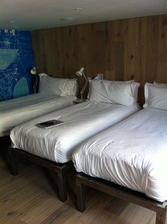 Grassmarket Hotel: Comfy beds!