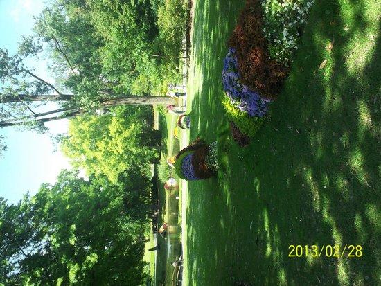 Serpent de fleurs picture of jardin des plantes nantes for Resto jardin des plantes