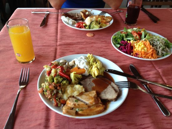 Turquoise Hotel: Akşam yemeği