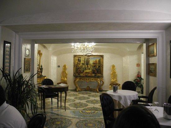 Delfini Strand Hotel Terme : Parte della reception