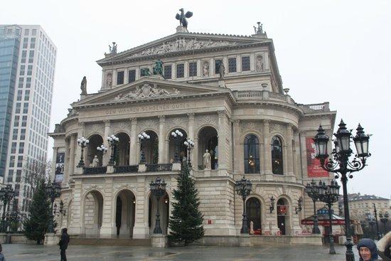 Alte Oper: Главный фасад Оперы