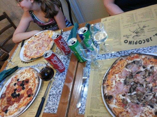 San Jacopino Trattoria Pizzeria: Pizzas