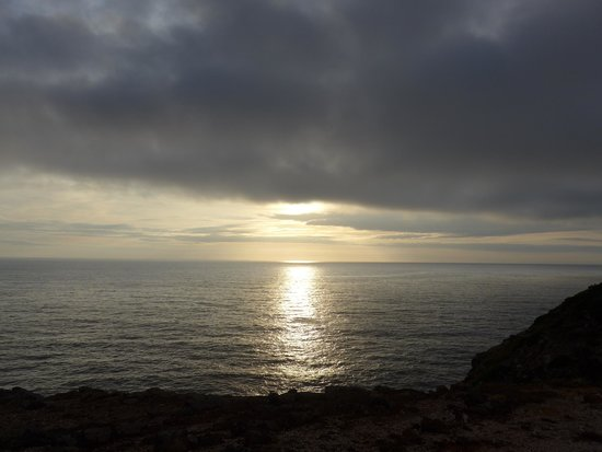 Herdade do Touril: maravilhoso pôr do Sol