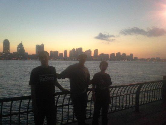 NY Skyline from Battery Park
