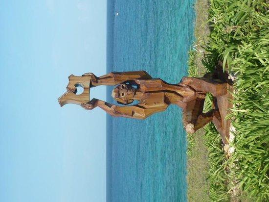 Punta Sur: sculpture