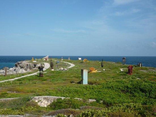 Punta Sur: sculpture park