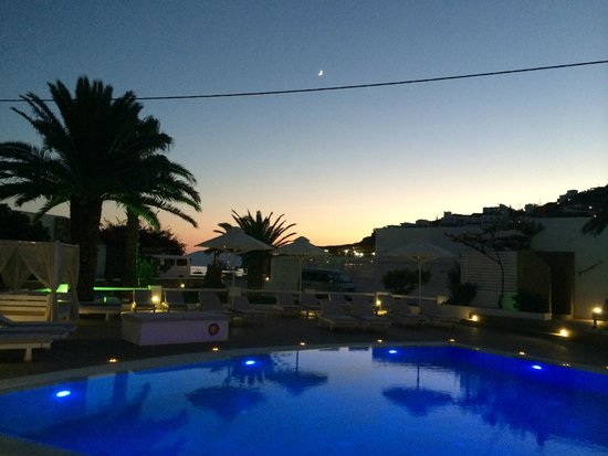 Aegeon Hotel : Magisk kväll!