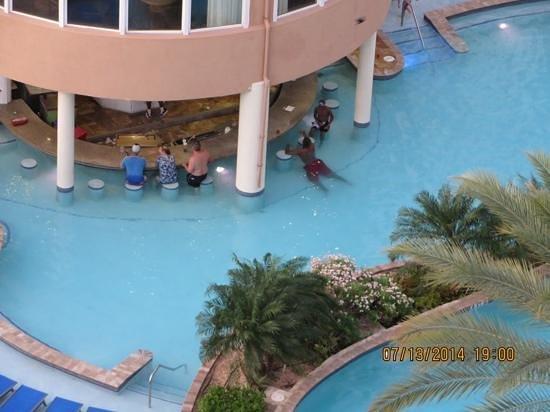 Divi Aruba Phoenix Beach Resort: swim up bar