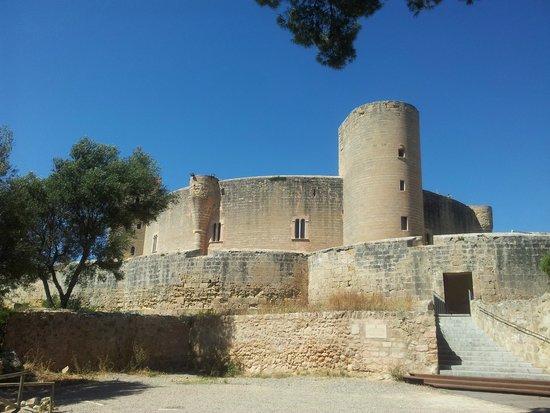 Castell de Bellver (Schloss Bellveder): south west view