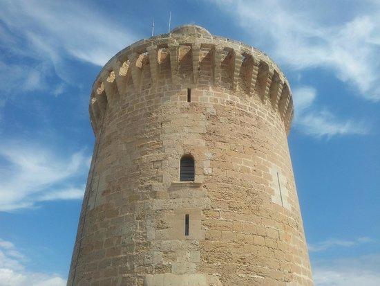 Castell de Bellver (Schloss Bellveder): tower