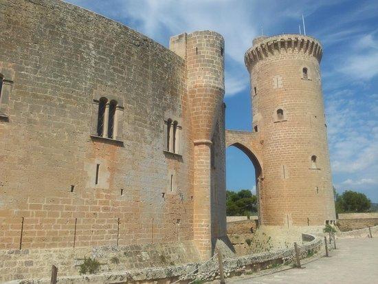 Castell de Bellver (Schloss Bellveder): south east view