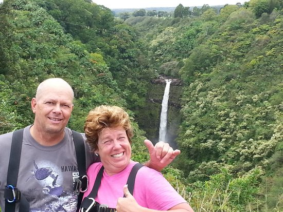 Skyline Eco Adventures - Akaka Falls: WOW!  Can't believe I just did the big one!  It was awesome!