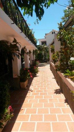 Alcadima Hotel: Pasillo