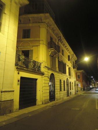 B&B Ponte Manin : Rua tranquila onde está localizado o hotel